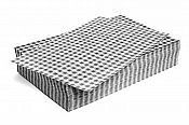 Gingham Greaseproof Paper Black/White 200 x 150