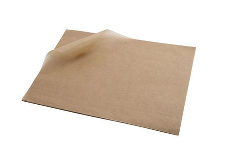 Brown Greaseproof Paper 330 x 400mm 28gsm
