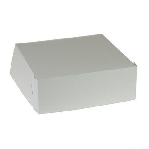 Cake Box 10 x 10 x 3 - 255 x 255 x 75mm