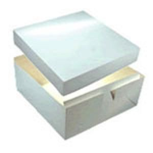 Cake Box 16 X 16 X 6 Base & Lid - 405 x 405 x 150