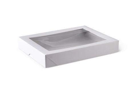 Window Patisserie Box Flat -200 x 150 x 30mm
