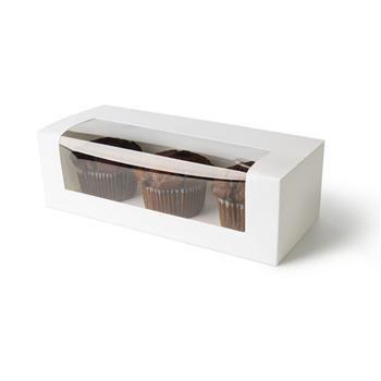 """Window Patisserie Box Long 10"""" 260x110x80"""