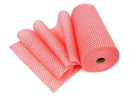 Heavy Duty Wipes On Roll Red