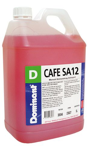 Cafe SA12 Dishwash Liquid- 5 Litres