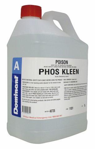 Phos Kleen Liquid Descaler 5Litres