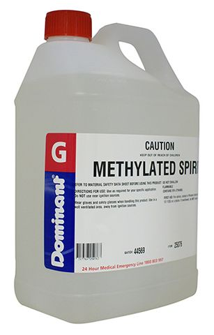 Methylated Spirits - 5 Litres