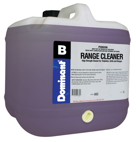 Range Oven & Grill Cleaner - 15 Litres