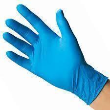 Medium Glove Vinyl Blue