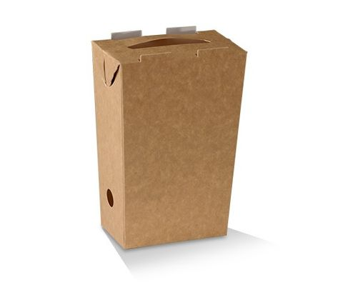 Large Chip Box - Brown