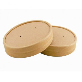 Kraft Lids to suit 8,12 and 16oz  Food Containers