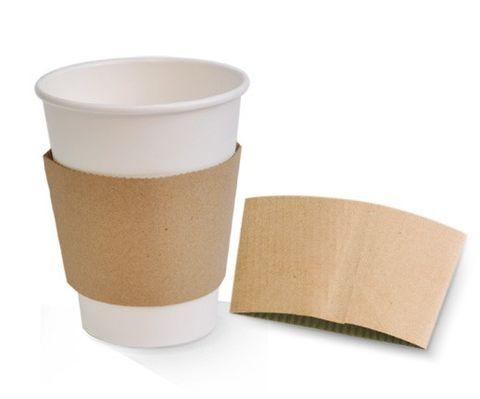 Brown Kraft Paper Sleeve To Suit 8oz