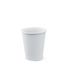 Paper Coffee Cup 6 oz White 80mm Dia