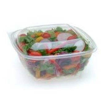 Clear Large 750ml Square Tub