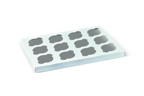 Inserts To Suit 12 Cup Cake Window Box