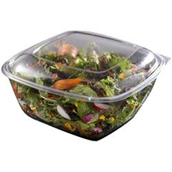 Large Clear 1000ml Square Tub