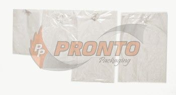 Plastic Bag 250 x 375Mm Clear Vented