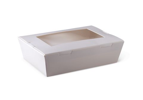 Lunch Box Window Medium White