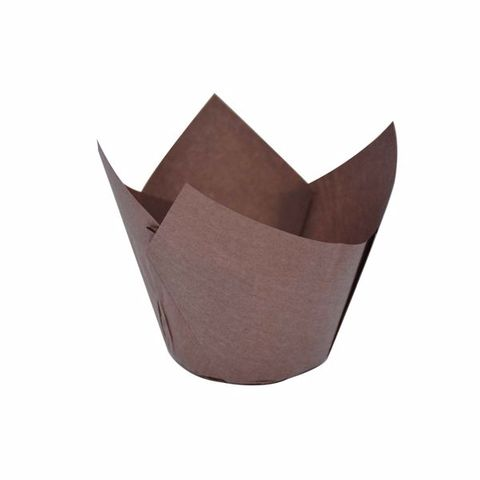 Muffin Parchment Mould Wrap Brown