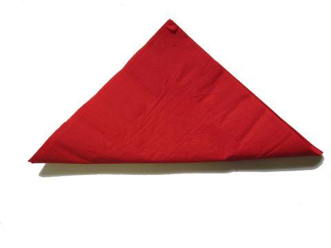 2Ply Napkins Dinner Red - Sleeve