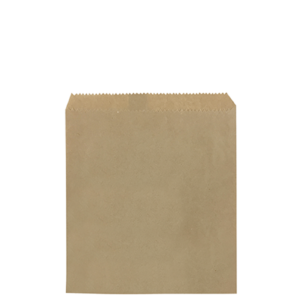 Paper Bag 1 Square Brown 190 x 170mm