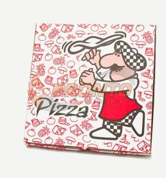 "Pizza Box 10 3/4""  Hot & Fresh"