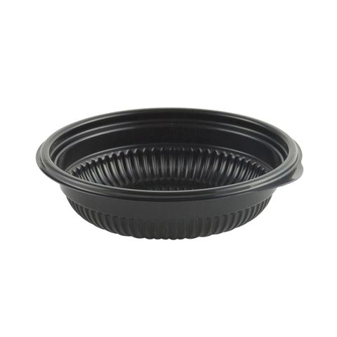 "8"" Small Salad Bowl (Black)"