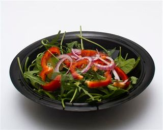 "12""Large Salad Bowl (Black)"