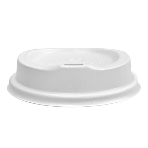 White Sipper Lid To Suit  90mm Cups