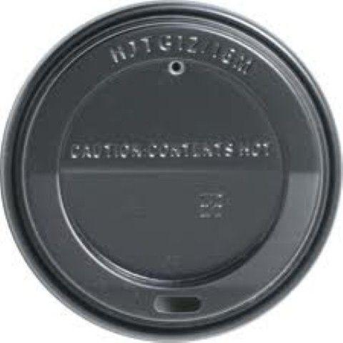 Black Sipper Lid To Suit 90mm Cups STD 1000ctn