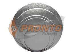 "Silver Cake Circle 9"" 2mm thick"