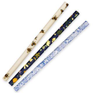 3Ply Paper Jumbo Straws Art Series BioStraw