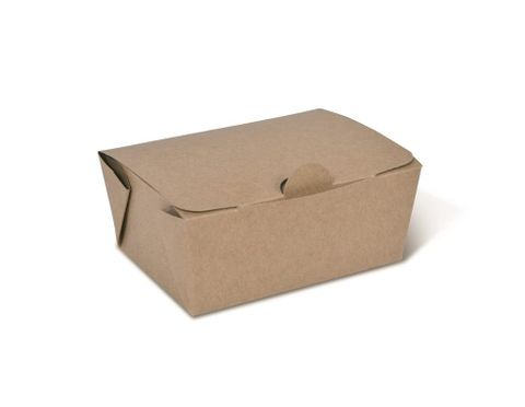 Takeaway Box Brown Extra Small 105 x 76 x 49mm