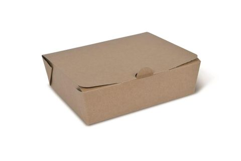 Takeaway Box Brown Large 157 x 125 x 49mm