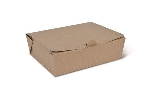Takeaway Box Brown Medium 142 x 111 x 49mm