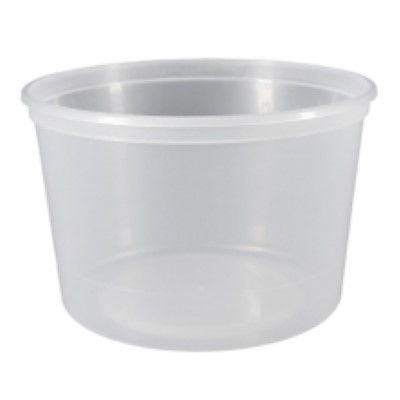 500Ml Round Containers