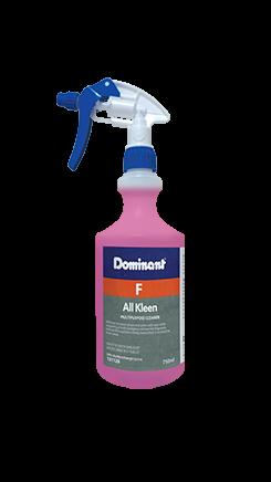 All Kleen Dispensing Bottle 750ML