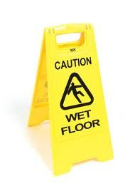 Janitorial Caution Sign