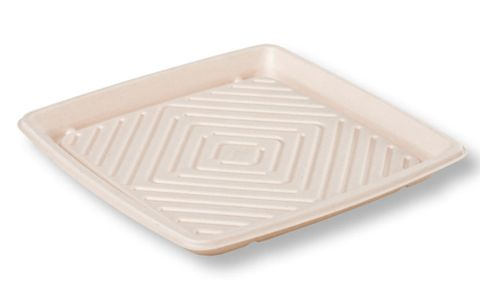 Sugarcane Catering Tray Large 400x400x40mm