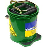 Green Mop Bucket With Casters