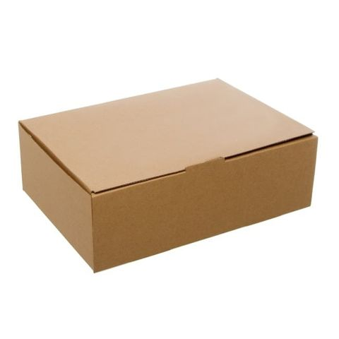 Plain Brownkraft Mailer Box A4 - 310 x 225 x 102 mm