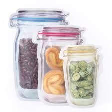 Jar shaped pouch 145 x 222 x 70mm 150gm