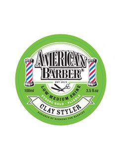 AMERICAN BARBER CLAY STYLER  100M