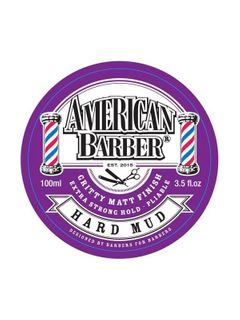 AMERICAN BARBER HARD MUD 100M
