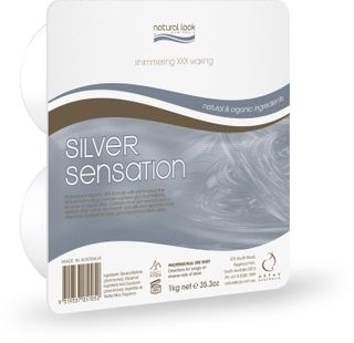 SILVER SENSATION 1KG HARD WAX