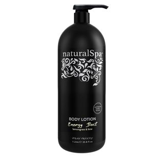 NATURAL SPA ENERGY BOOST BODY LOTION 1LT