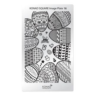 KONAD SQUARE PLATE 16