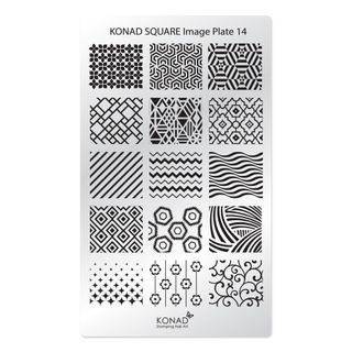 KONAD SQUARE PLATE 14