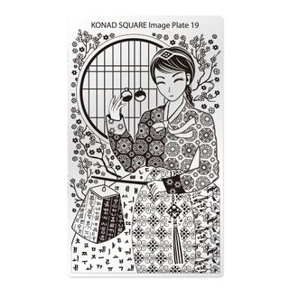 KONAD SQUARE PLATE 19