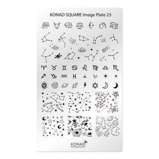 KONAD SQUARE PLATE 23