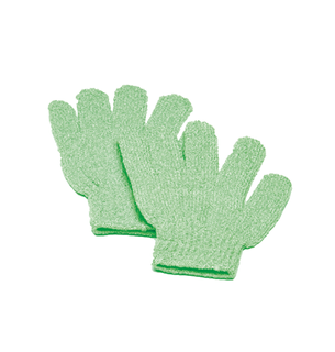 BODY EXFOLIATING GLOVES